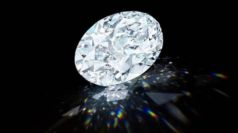 Σπάνιο διαμάντι έπιασε 13,3 εκατομμύρια ευρώ σε δημοπρασία