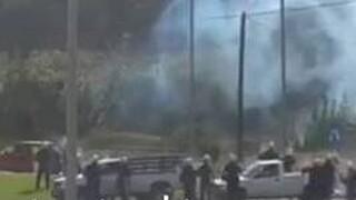 Μεσσήνη: Eπεισόδια με πέτρες και δακρυγόνα μετά την κηδεία του 18χρονου