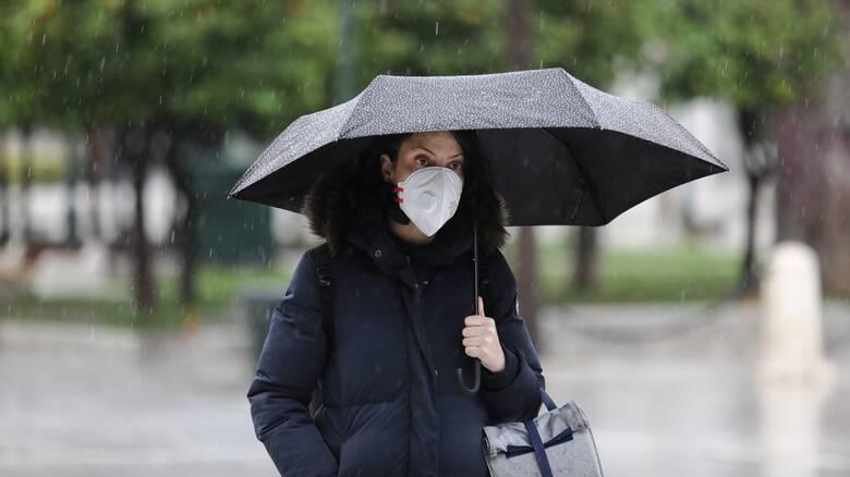 Καιρός: Πτώση θερμοκρασίας και βροχές την Πέμπτη