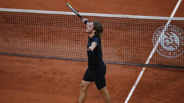 Roland Garros: Στα ημιτελικά του Grand Slam του Παρισιού ο Τσιτσιπάς