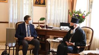 Συζήτηση Βαρθολομαίου με ειδικό σύμβουλο της UNESCO για Αγία Σοφία και Μονή της Χώρας