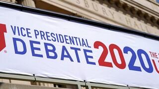 Εκλογές ΗΠΑ: Δείτε ζωντανά το debate μεταξύ των υποψήφιων αντιπροέδρων