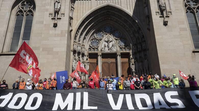 Κορωνοϊός - Βραζιλία: «Έσπασε» το φράγμα των 5 εκατ. κρουσμάτων εν μέσω καύσωνα
