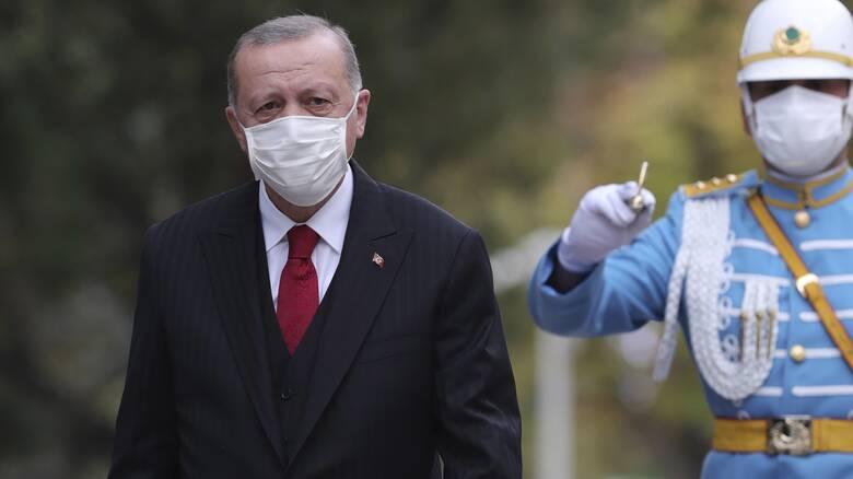 Ανυποχώρητος ο Ερντογάν: Ούτε βήμα πίσω από τους στόχους μας στo Αιγαίο