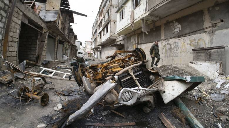 Αποστολή του CNN Greece: Καθημερινότητα οι βομβαρδισμοί για τους άμαχους στο Ναγκόρνο Καραμπάχ