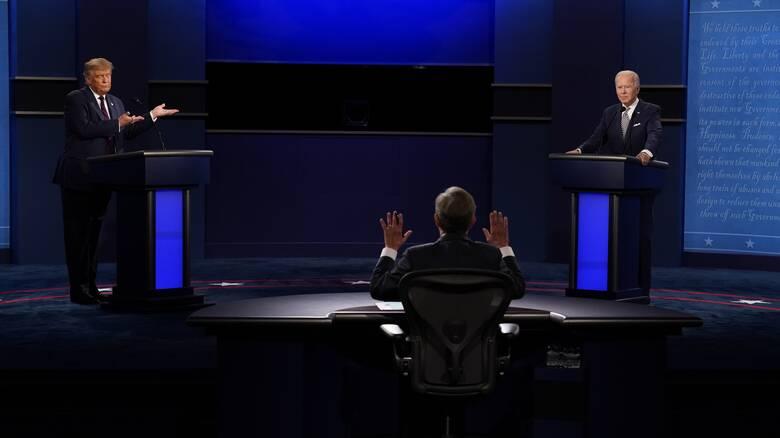 Εκλογές ΗΠΑ: Εξ αποστάσεως το δεύτερο προεδρικό debate