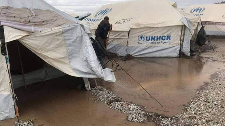 Ύπατη Αρμοστία: «Καμπανάκι» για την προστασία των προσφύγων στο Καρά Τεπέ εν όψει χειμώνα