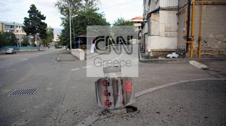 Το CNN Greece στο Ναγκόρνο-Καραμπάχ: Μαίνονται οι βομβαρδισμοί παρά την εκεχειρία