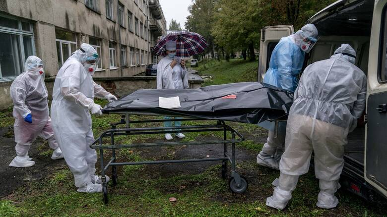 Κορωνοϊός - Ουκρανία: Πάνω από 100 νεκροί σε μία μέρα από την αρχή της πανδημίας