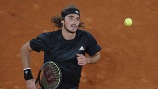 Roland Garros: Χρηματικό πρόστιμο στον Τσιτσιπά