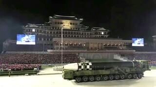 ΗΠΑ για Βόρεια Κορέα: «Απογοητευτική» η εμφάνιση διηπειρωτικού βαλλιστικού πυραύλου