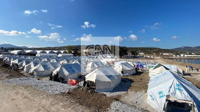 Μυτιλήνη: Καρέ - καρέ οι εργασίες αποκατάστασης στο ΚΥΤ του Καρά Τεπέ