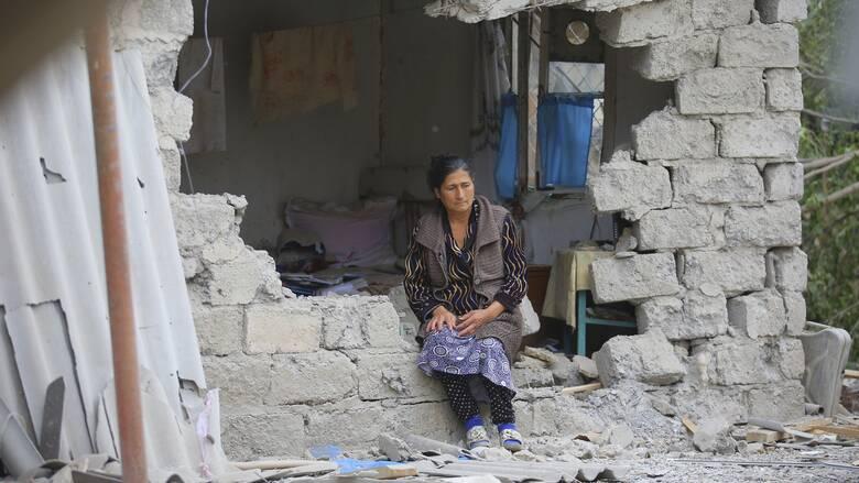 Το CNN Greece στο Ναγκόρνο Καραμπάχ: Ανακωχή με ...βομβαρδισμούς