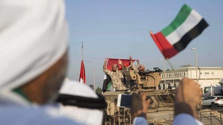 ΗΑΕ κατά Τουρκίας: Επικίνδυνη η παρουσία του τουρκικού στρατού στον Αραβικό Κόλπο