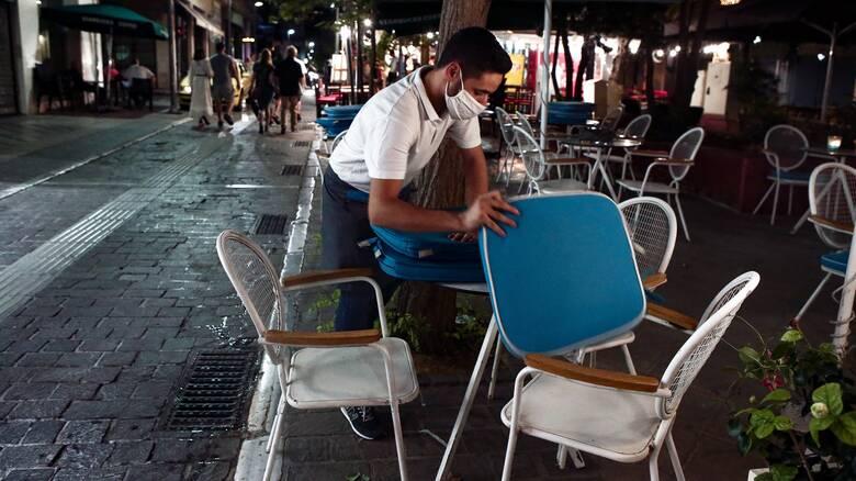 Κορωνοϊός: Στο 50% η πληρότητα στην εστίαση στις «κόκκινες» περιοχές - Νέα αυστηρά μέτρα