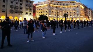 Θεσσαλονίκη: Διαμαρτυρία Κυπρίων φοιτητών για τα Βαρώσια