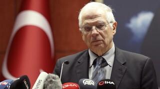 Μπορέλ: Οι τουρκικές γεωτρήσεις στη Μεσόγειο στην ατζέντα των ΥΠΕΞ