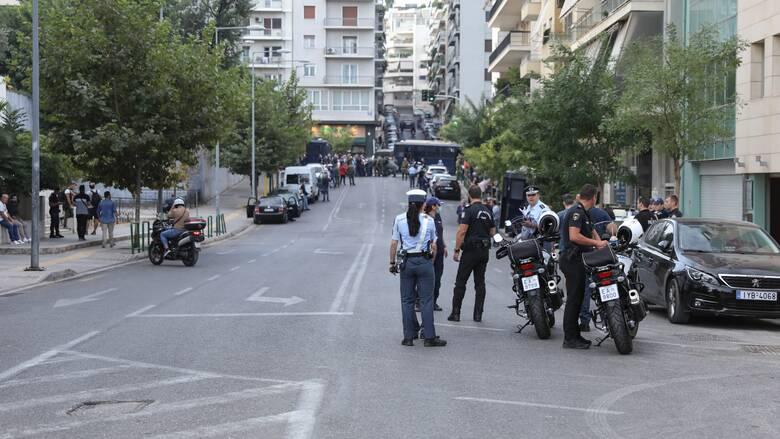 Δίκη Χρυσής Αυγής: Κυκλοφοριακές ρυθμίσεις και αύριο έξω από το Εφετείο Αθηνών
