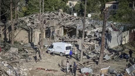 Το CNN Greece στο Ναγκόρνο Καραμπάχ - Εικόνες από τον βομβαρδισμένο καθεδρικό στο Σούσι