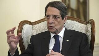 Αναστασιάδης: Οι νέες τουρκικές προκλήσεις θα πρέπει να δημιουργούν στους ευρωπαίους κρίση εκτίμησης