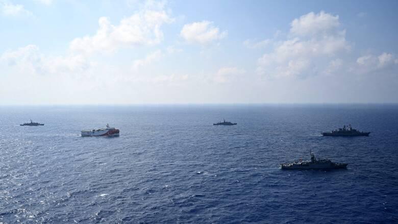 Oruc Reis: Σε ετοιμότητα ξανά ο Στόλος - Νέος διπλωματικός μαραθώνιος