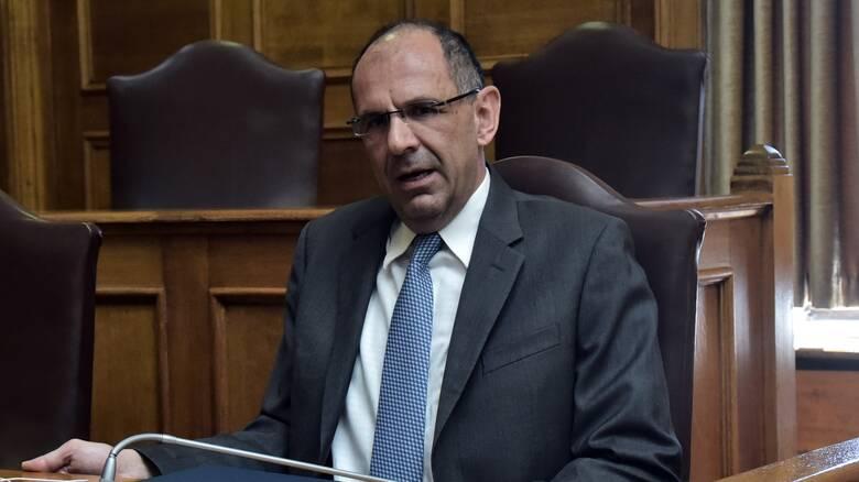 Oruc Reis - Γεραπετρίτης: «Δεν συζητάμε υπό όρους εκβίασης και απειλής»
