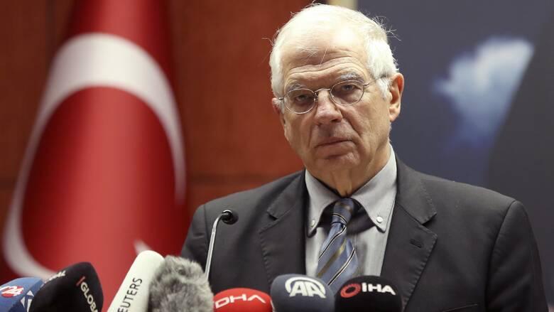 Μπορέλ: Η ΕΕ εκφράζει τη σοβαρή ανησυχία της για το «άνοιγμα» των Βαρωσίων