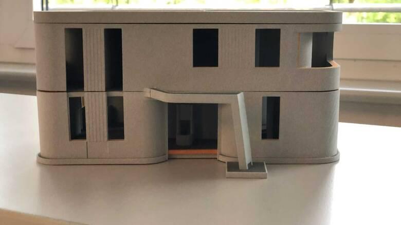 Έλληνας της Γερμανίας «εκτύπωσε» διώροφο κατοικήσιμο σπίτι