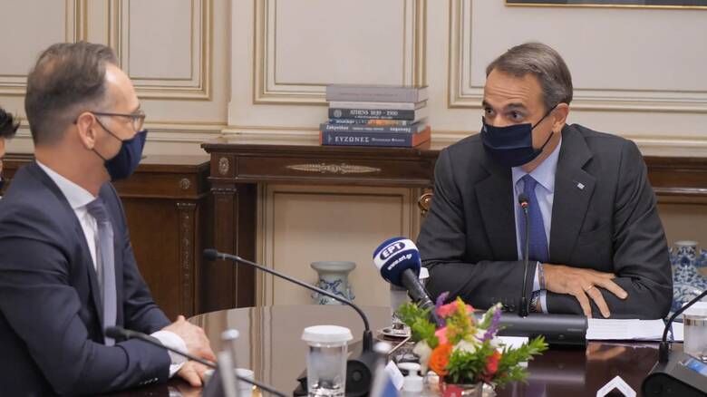 Orus Reis: Συνάντηση Μητσοτάκη με Μάας - Προφανώς δεν συζητάμε υπό αυτές τις συνθήκες