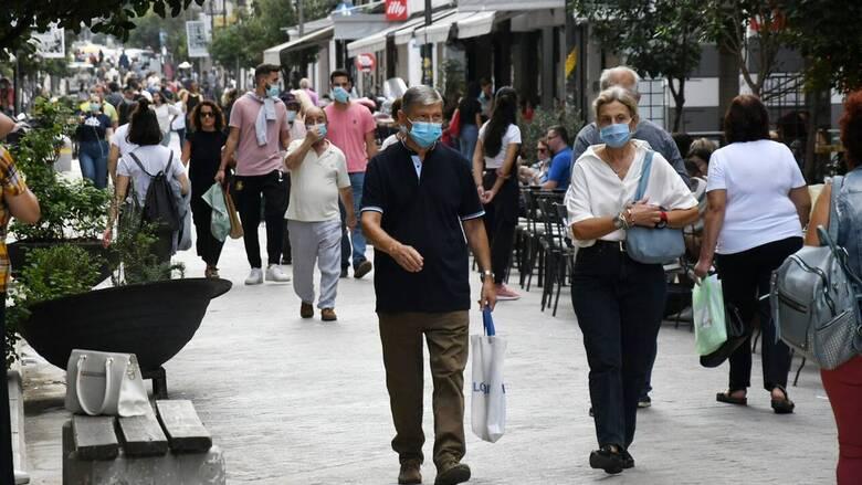 Κορωνοϊός: Προς σταθεροποίηση η Αττική - Σε συναγερμό Ιωάννινα, Κοζάνη και Πέλλα