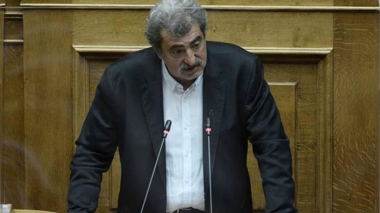 Στη Βουλή δικογραφία για τον Παύλο Πολάκη