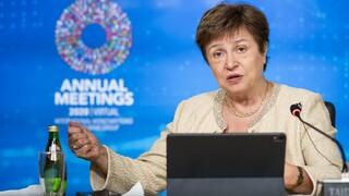 Γκεοργκίεβα: Ο κορωνοϊός μπορεί να κοστίσει 28 τρισ. δολάρια την επόμενη πενταετία