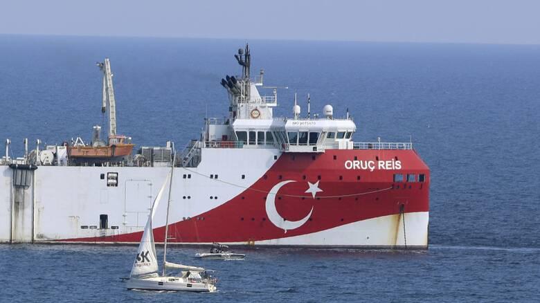Oruc Reis: Θρίλερ με την πορεία του τουρκικού σεισμογραφικού - Έδωσε στίγμα μετά από 24 ώρες