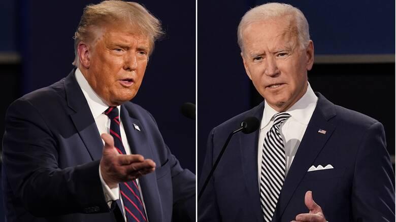 Προεδρικές εκλογές ΗΠΑ: Τραμπ και Μπάιντεν σε «τηλεμαχία» αλλά σε διαφορετικά κανάλια