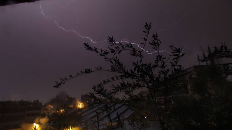 Έκτακτο δελτίο επιδείνωσης καιρού: Ισχυρές βροχές και καταιγίδες από σήμερα το βράδυ
