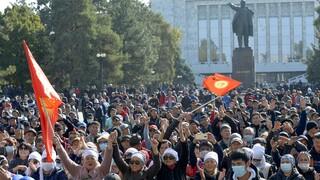 Πολιτική κρίση στο Κιργιστάν: Παραιτήθηκε ο πρόεδρος Ζεενμπέκοφ