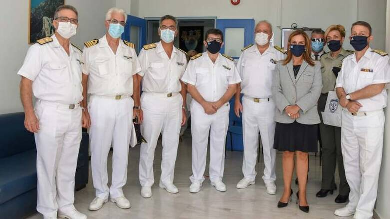 Στο Κέντρο Ειδικής Φροντίδας Παιδιού του Ναυτικού Νοσοκομείου οι Στεφανής και Ράπτη