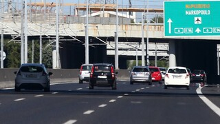 Κυκλοφοριακά προβλήματα στην Αττική Οδό λόγω τροχαίου