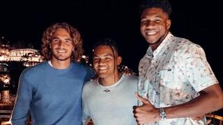 «Αστέρια» του αθλητισμού σε χαλαρές στιγμές: Αντετοκούνμπο, Τσιτσιπάς, Καραλής μαζί