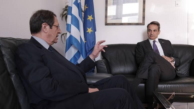 Στη Λευκωσία η 8η τριμερής Σύνοδος Κορυφής Κύπρου - Ελλάδας - Αιγύπτου