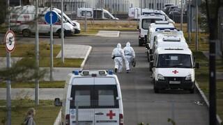 Κορωνοϊός: Ανησυχία από το Κρεμλίνο για την ραγδαία αύξηση των κρουσμάτων