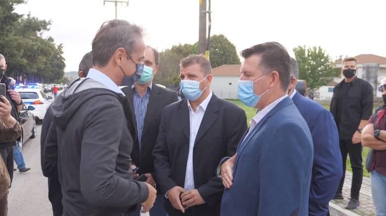 Μητσοτάκης: Ενίσχυση του αισθήματος ασφάλειας με τον φράχτη στον Έβρο
