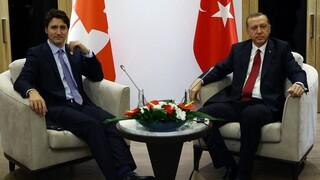 Ερντογάν: Βολές κατά Τριντό για την αναστολή εξαγωγής drone στην Τουρκία