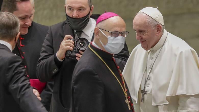 Κορωνοϊός: Βρέθηκε κρούσμα στην κατοικία του Πάπα στο Βατικανό