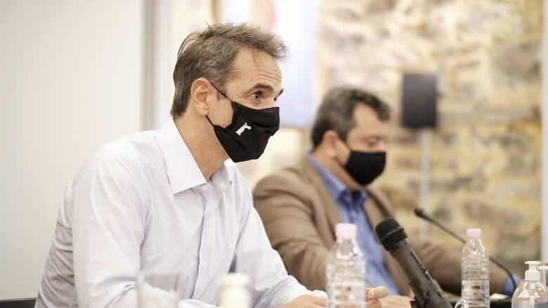 Μητσοτάκης στη Σαμοθράκη: Πρώτο μας μέλημα η φροντίδα της ακριτικής Ελλάδας