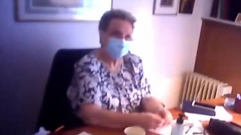 Παρέμβαση Ρουβίκωνα στο ιατρείο της Γιαμαρέλλου στο Κολωνάκι