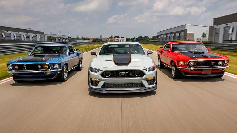 Η Ford Mustang με τη θρυλική ονομασία Mach 1 θα έρθει και στην Ευρώπη