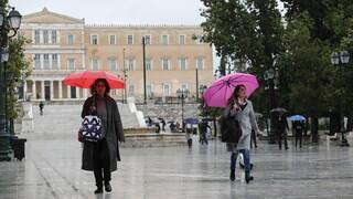 Καιρός: Πτώση της θερμοκρασίας και βροχές τη Δευτέρα