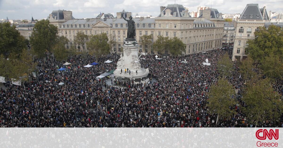 Γαλλία: Πολίτες αποτίουν φόρο τιμής στη μνήμη του καθηγητή που αποκεφαλίστηκε