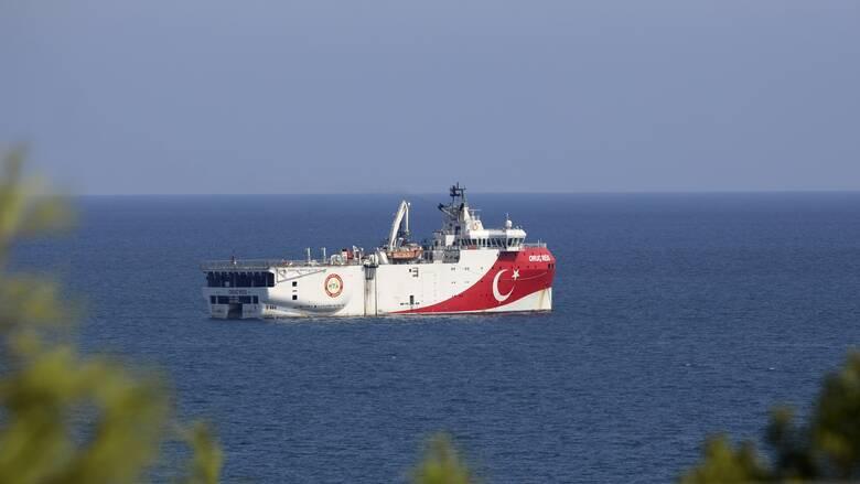 Oruc Reis: Πέρασε πολύ κοντά από το Καστελόριζο το τουρκικό σκάφος